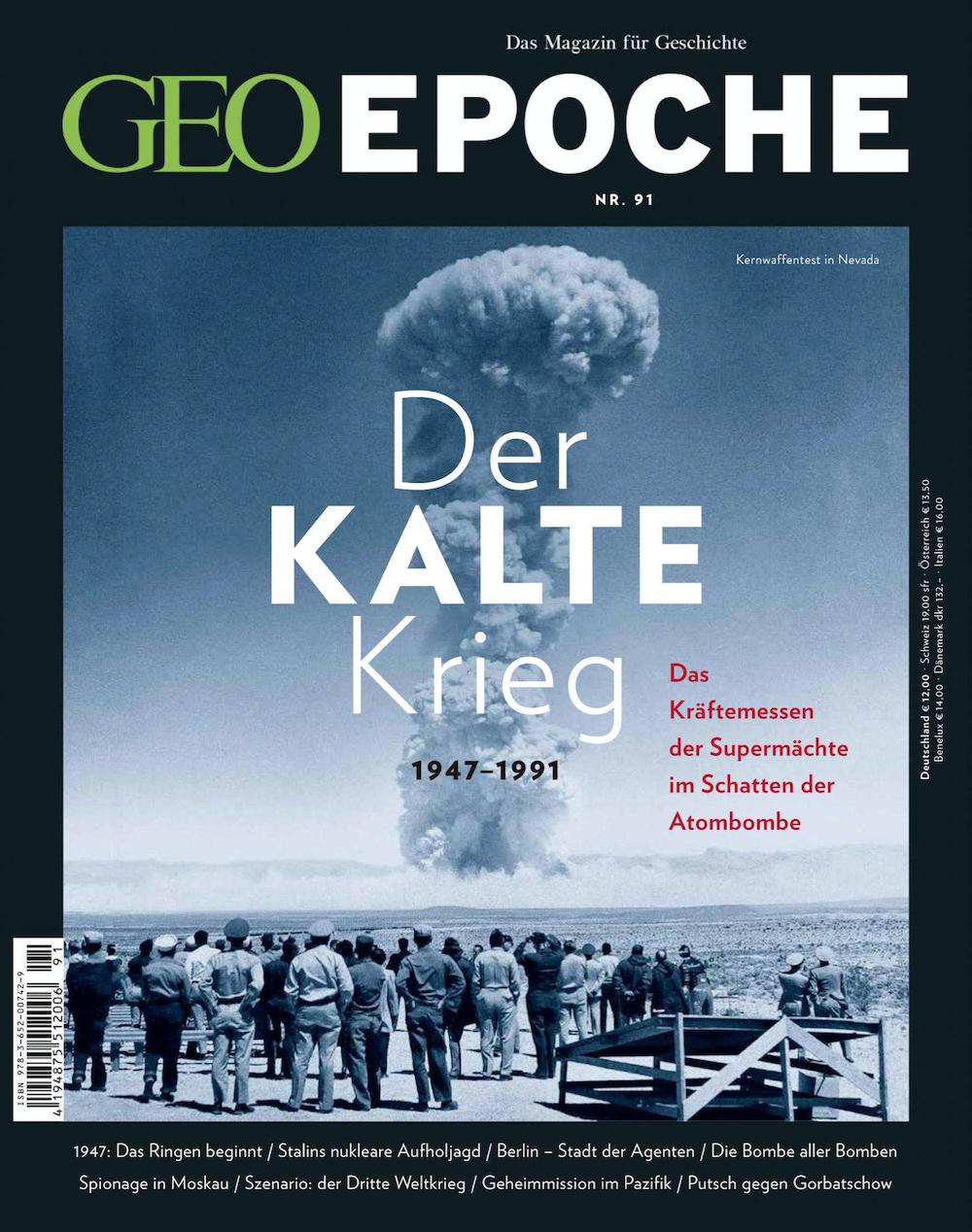 GEO Epoche 2018-91 Der kalte Krieg