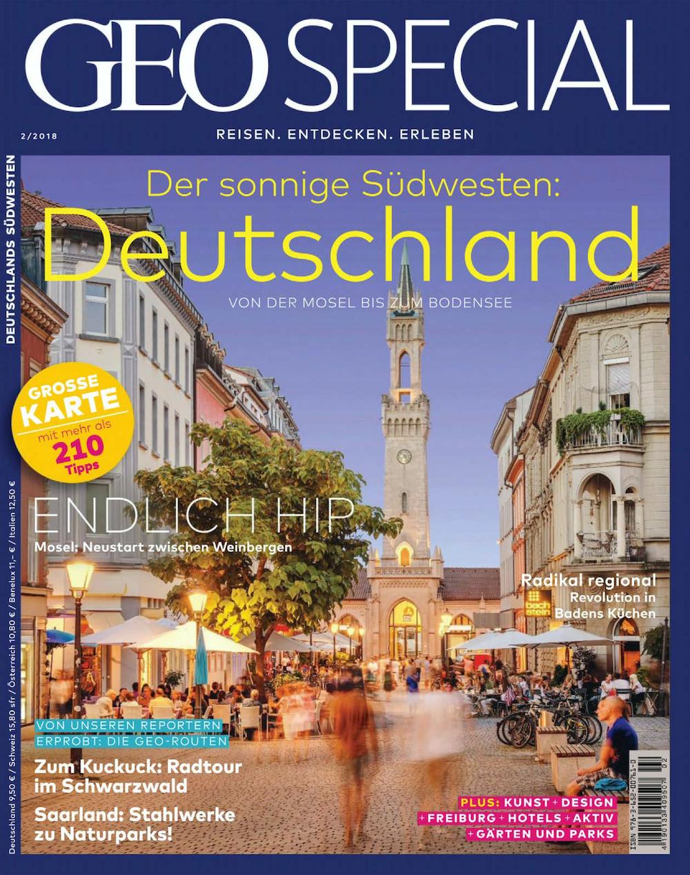 GEO Special 2018-02 Deutschland - Von der Mosel bis zum Bodensee