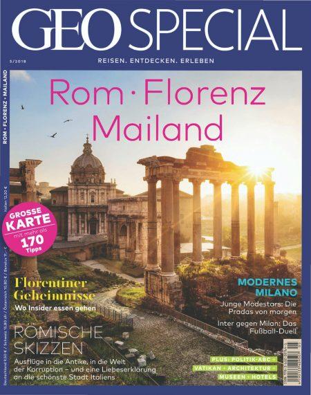 GEO Special 2018-05 Rom - Florenz - Mailand