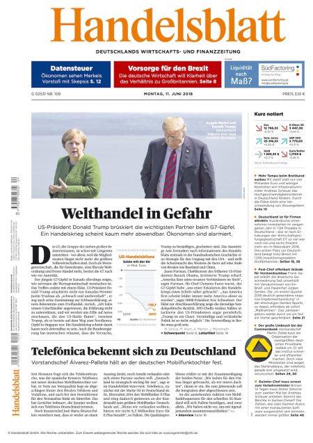 Handelsblatt 2018-06
