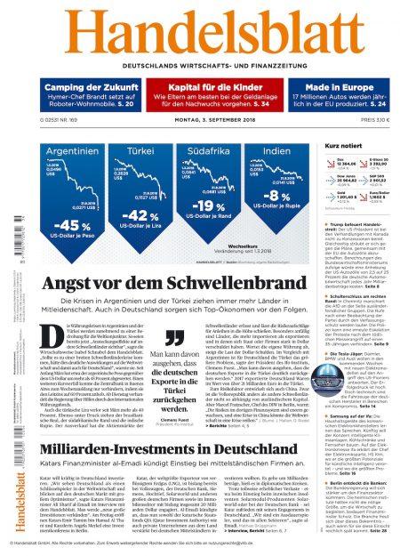 Handelsblatt 2018-09