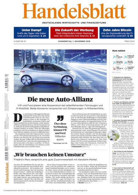 Handelsblatt 2018-11