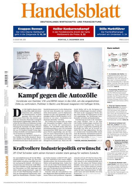 Handelsblatt 2018-12