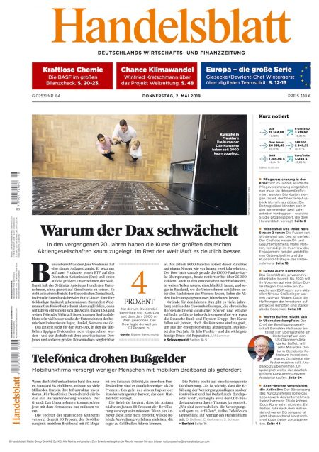 Handelsblatt 2019-05