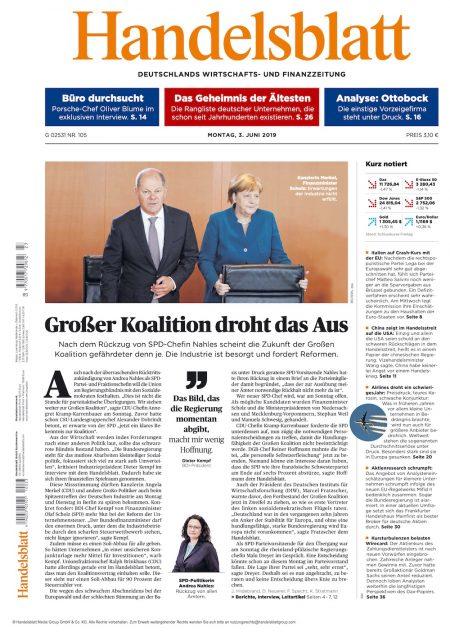 Handelsblatt 2019-06