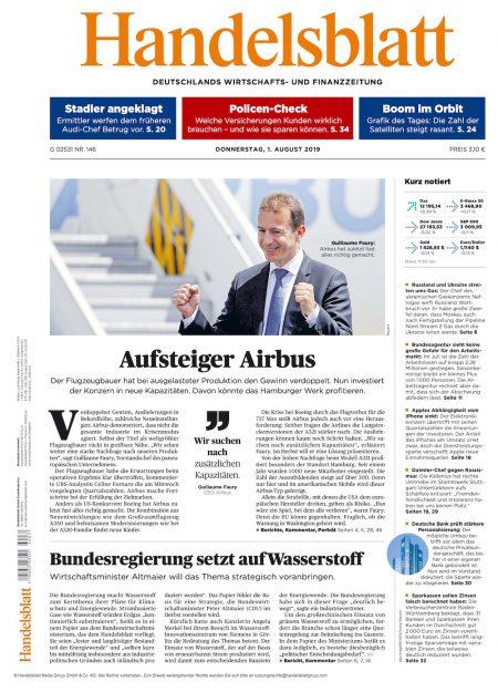Handelsblatt 2019-08