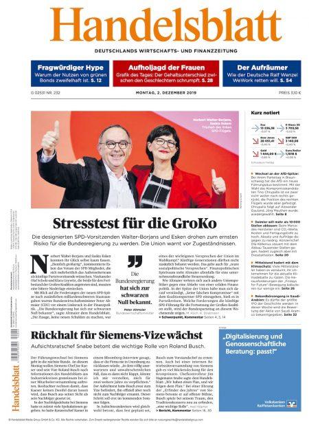 Handelsblatt 2019-12