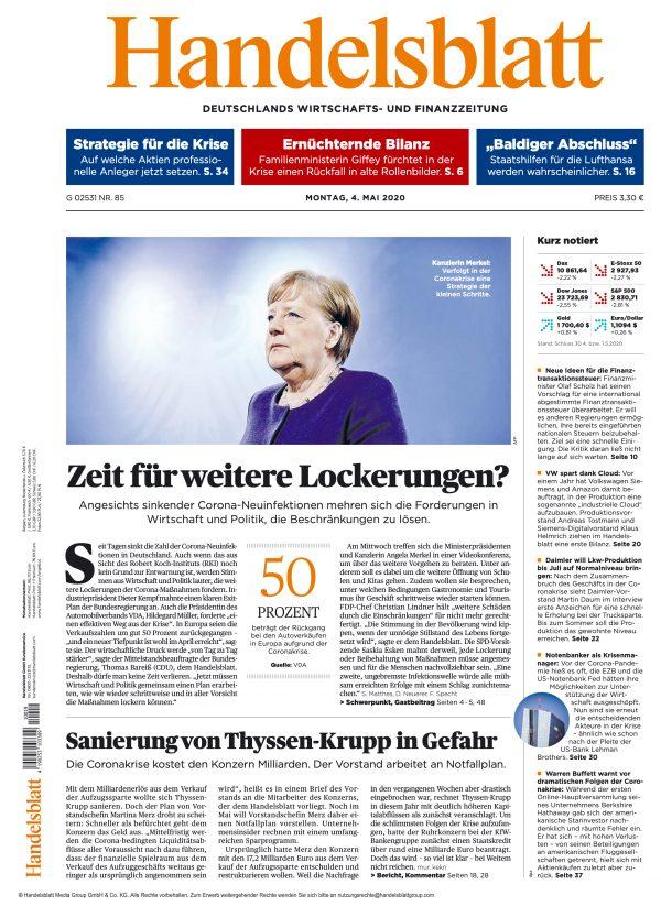 Handelsblatt 2020-05