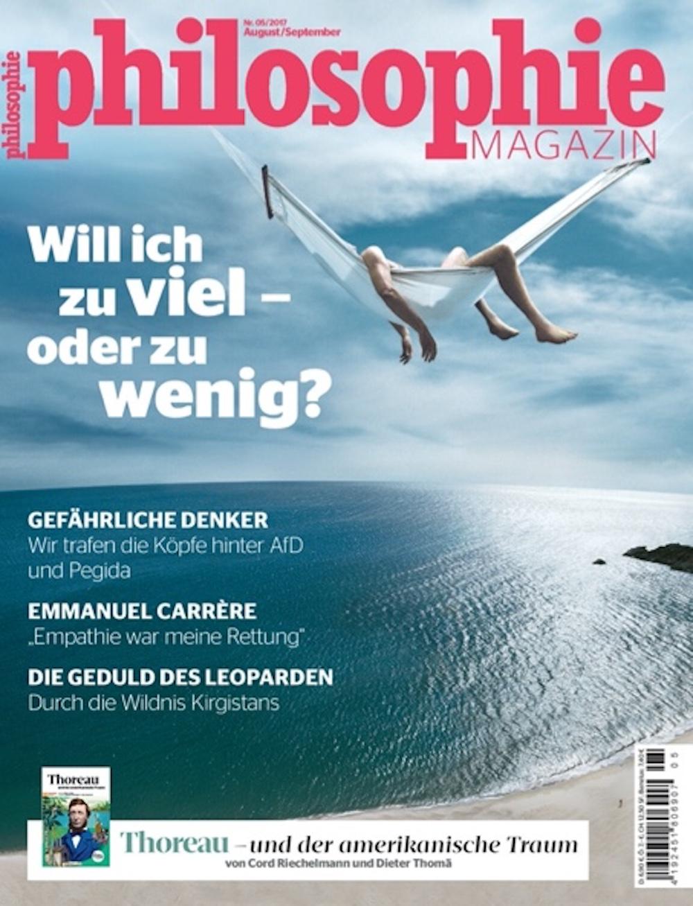 Philosophie Magazin 2017-08-09