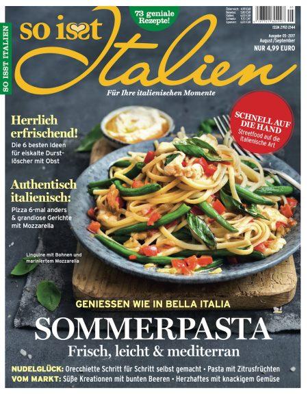 So isst Italien 2017-08-09