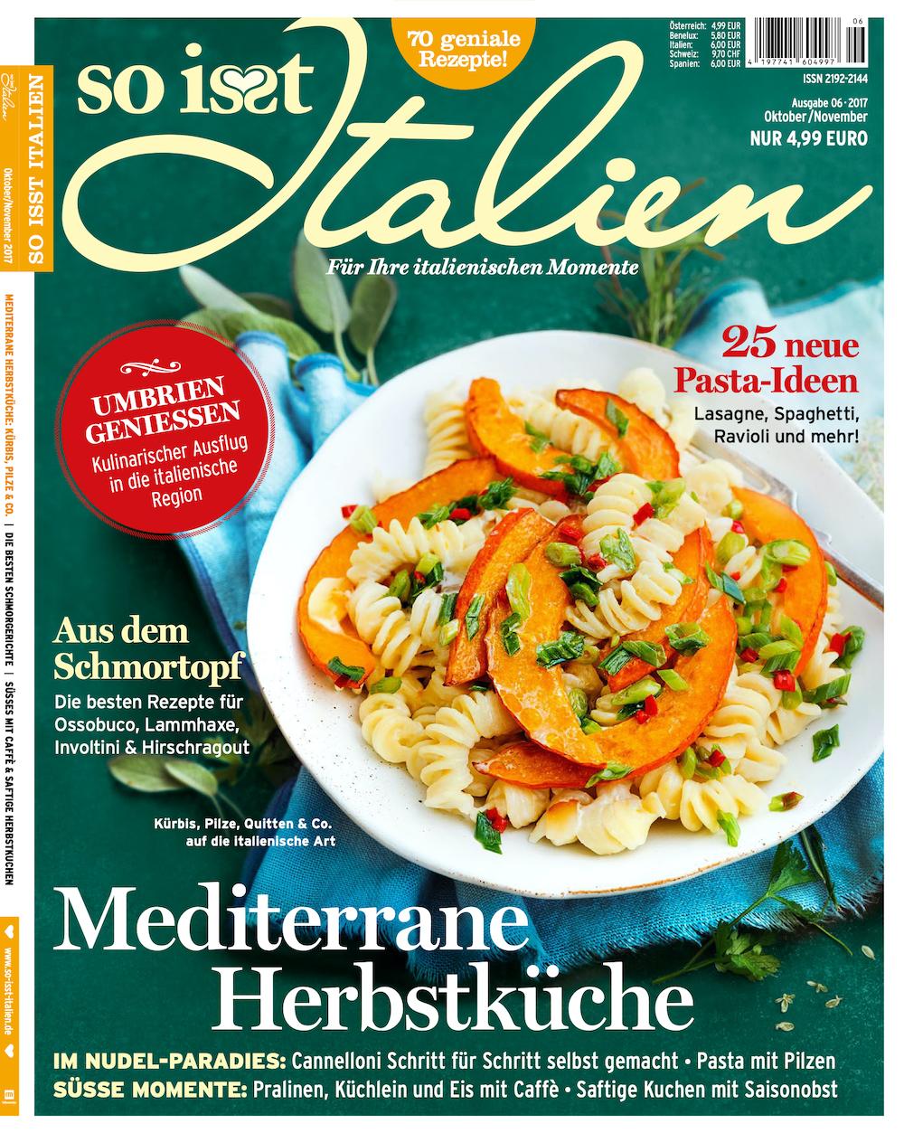 So isst Italien 2017-10-11