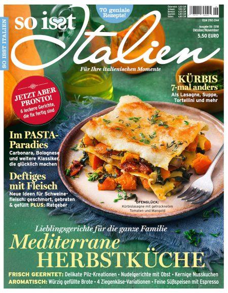 So isst Italien 2018-10-11
