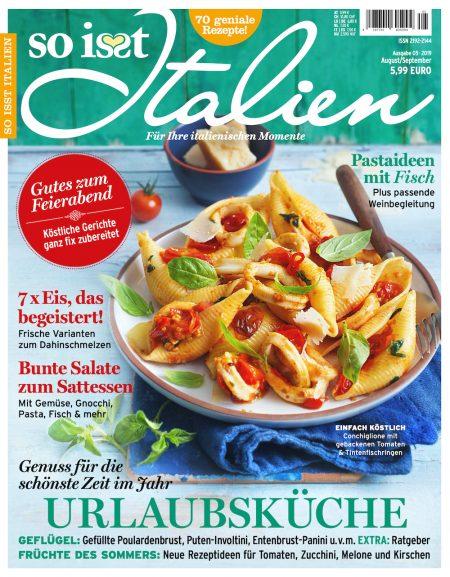 So isst Italien 2019-08-09