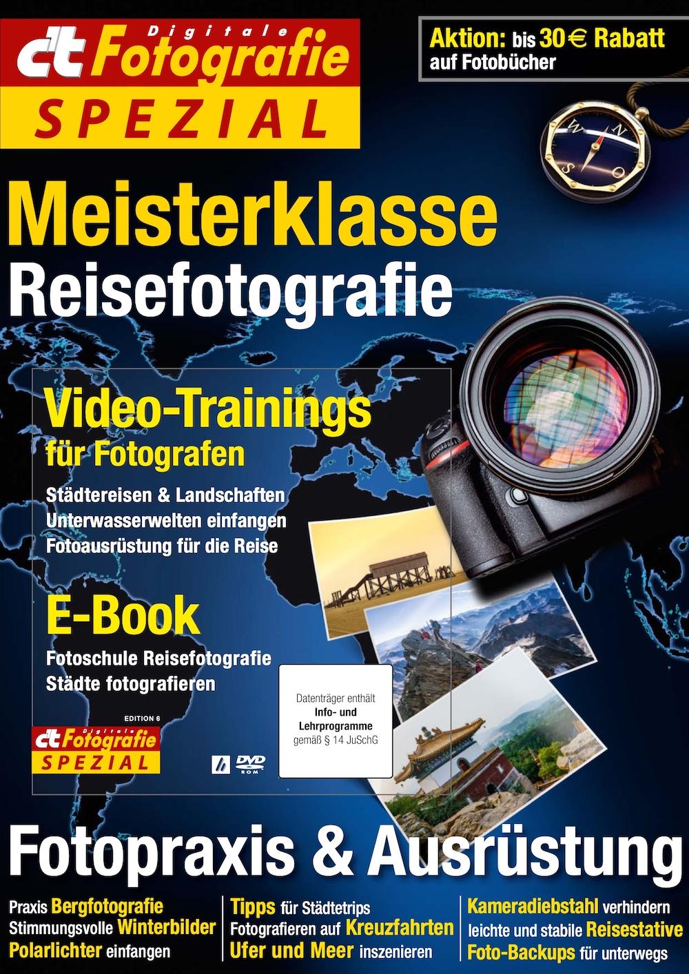 c't Digitale Fotografie Spezial Meisterklasse Edition 6 2018