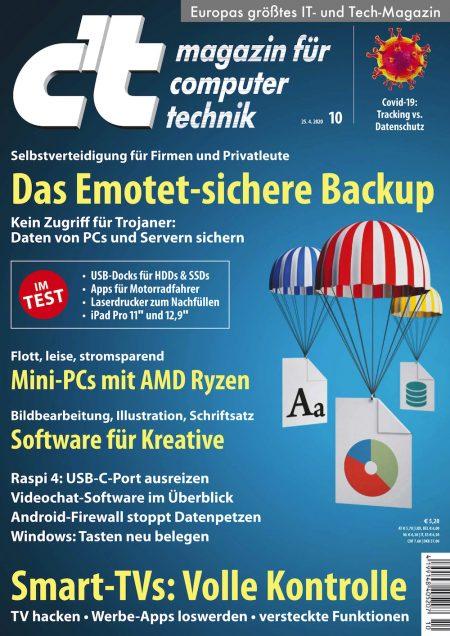 c't Magazin 2020-10