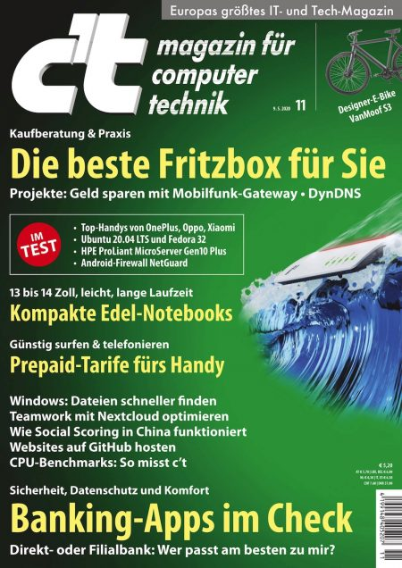 c't-Magazin 2020-11