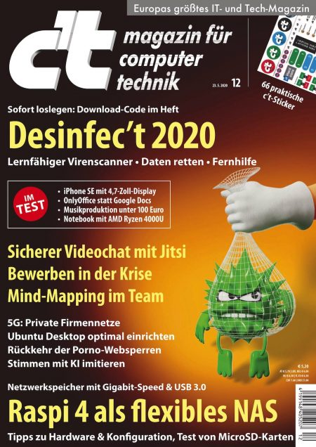 c't Magazin 2020-12
