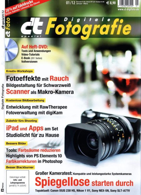 c't Digitale Fotografie 2012-01