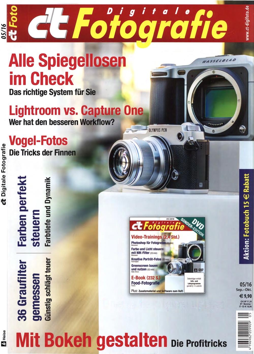 c't Digitale Fotografie 2016-05