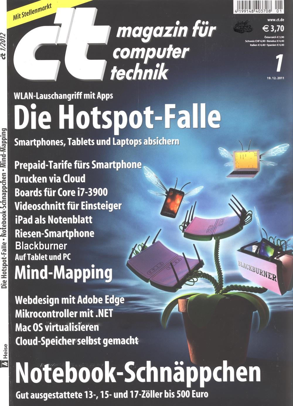 c't Magazin 2012-01