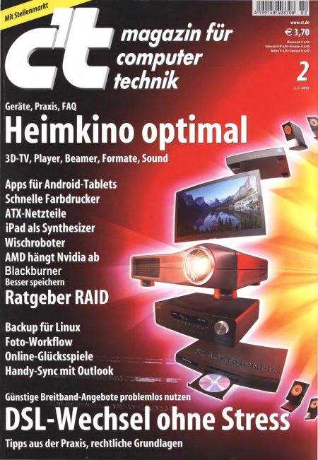 c't Magazin 2012-02
