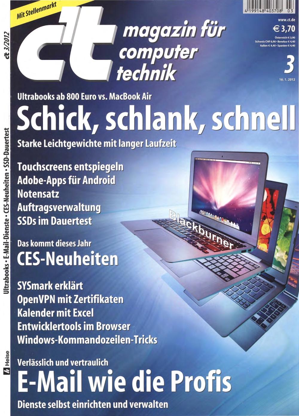 c't Magazin 2012-03
