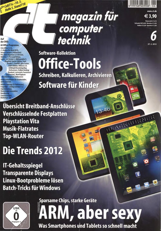c't Magazin 2012-06