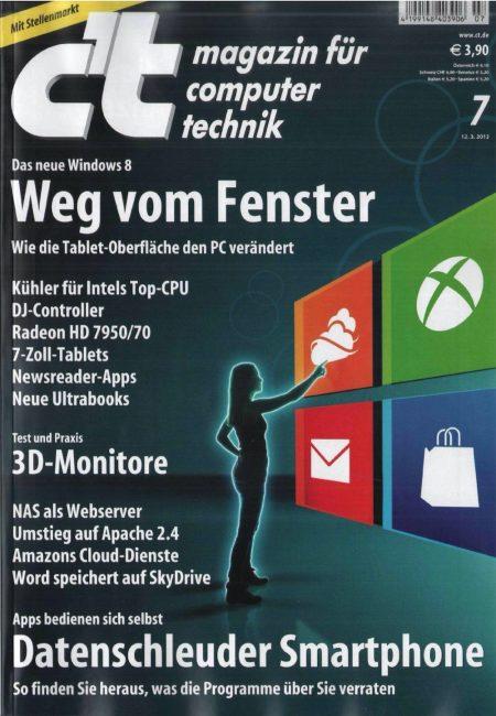 c't Magazin 2012-07