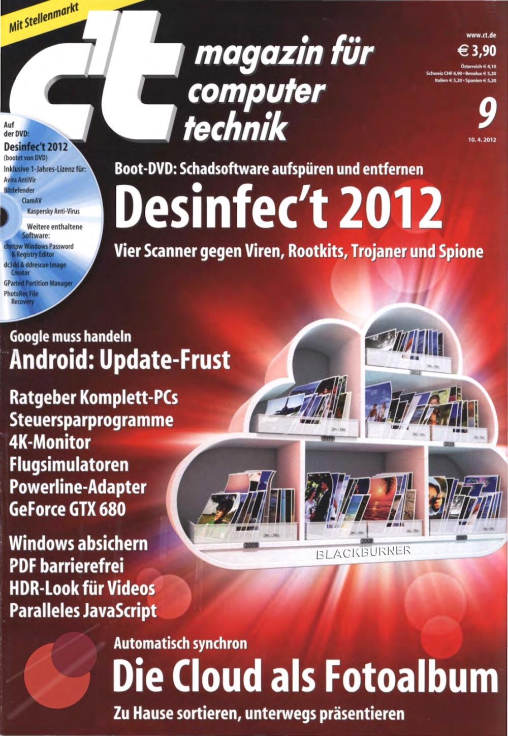 c't Magazin 2012-09