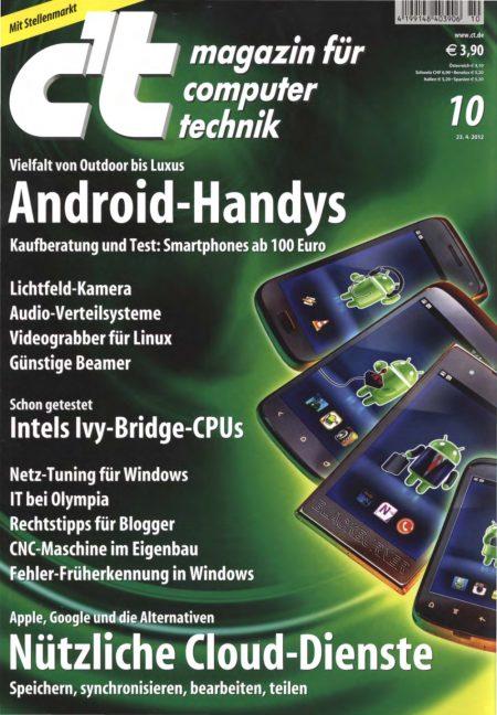 c't Magazin 2012-10