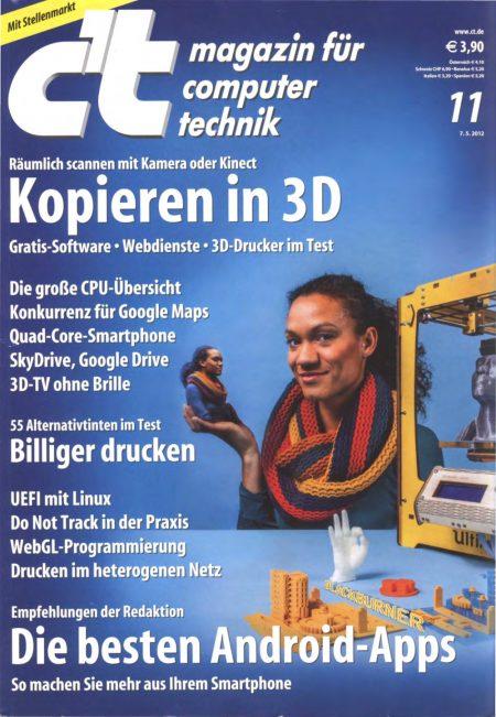 c't Magazin 2012-11