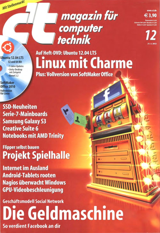 c't Magazin 2012-12