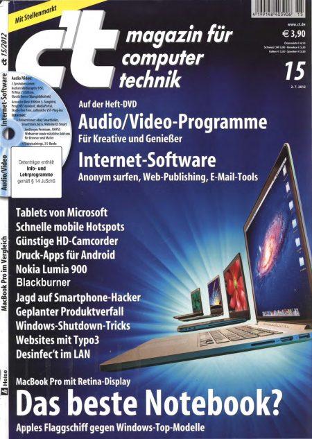 c't Magazin 2012-15
