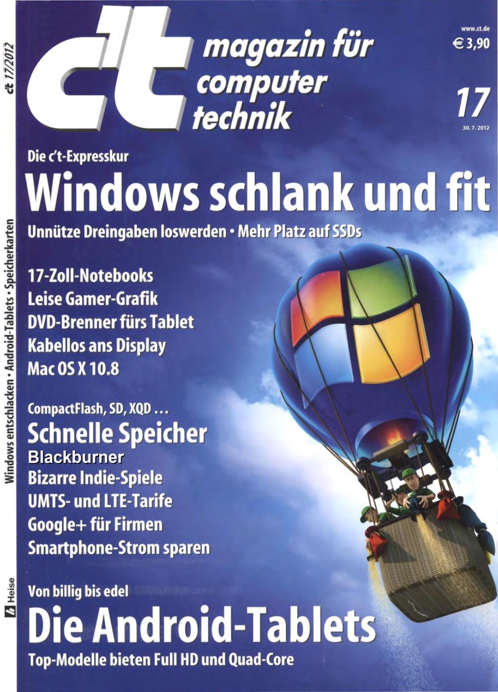 c't Magazin 2012-17
