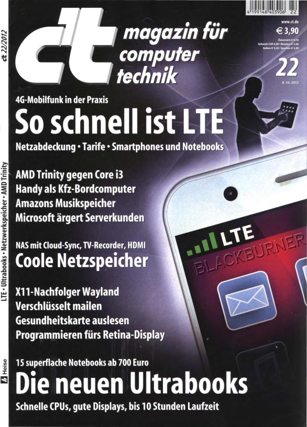 c't Magazin 2012-22