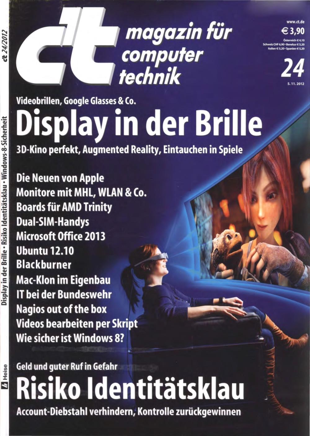 c't Magazin 2012-24