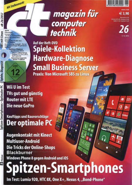 c't Magazin 2012-26