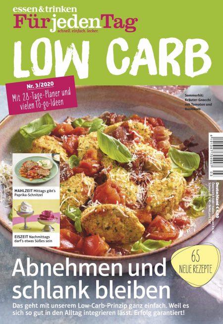 Essen & Trinken für jeden Tag Sonderheft Low Carb 2020-03