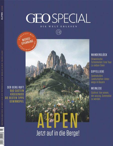 GEO Special 2020-03 Alpen - Jetzt auf die Berge