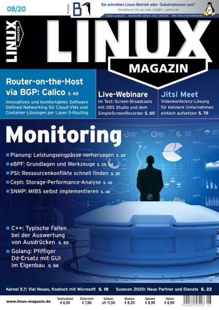 Linux Magazin 2020-08