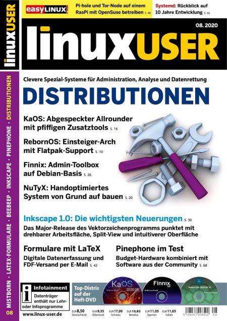 Linux User 2020-08