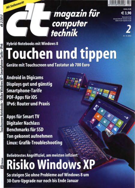c't Magazin 2013-02