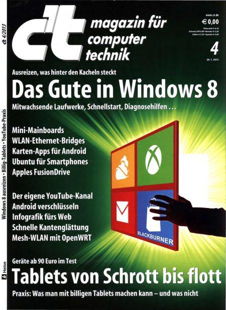 c't Magazin 2013-04