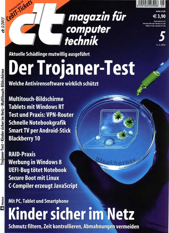 c't Magazin 2013-05