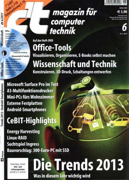 c't Magazin 2013-06