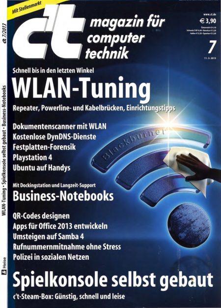 c't Magazin 2013-07