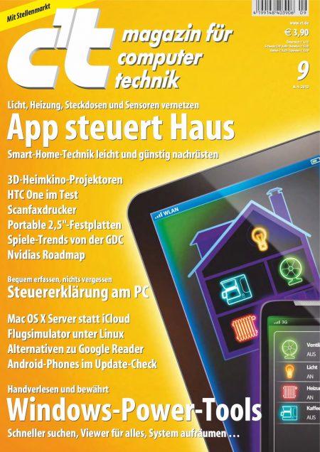 c't Magazin 2013-09