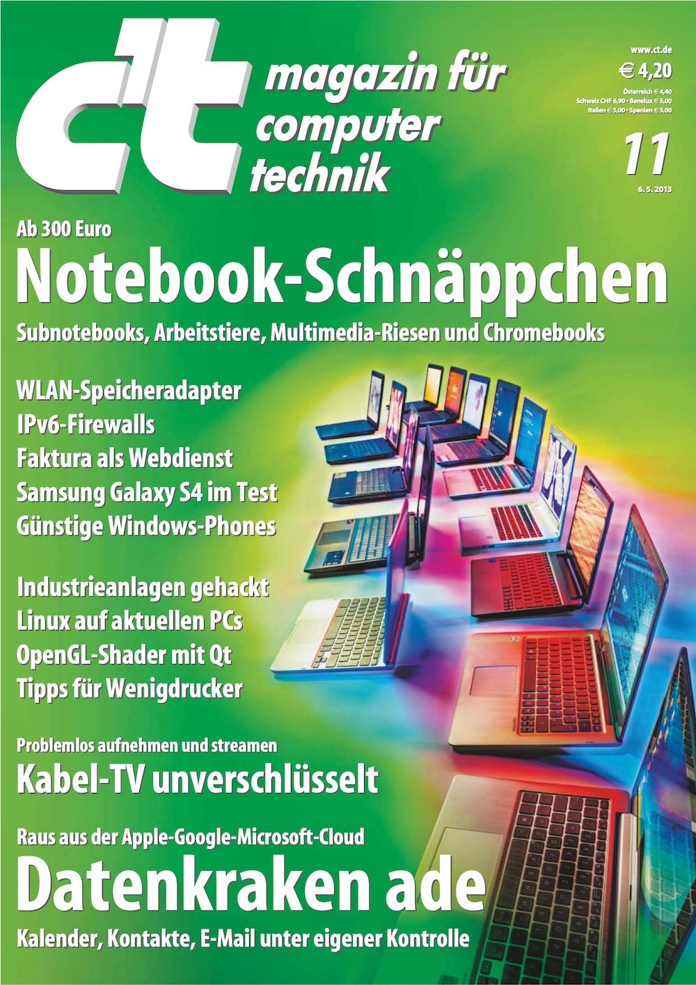 c't Magazin 2013-11