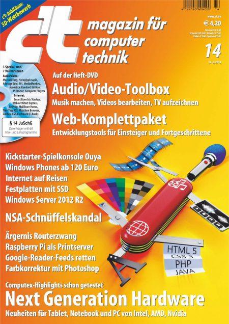 c't Magazin 2013-14