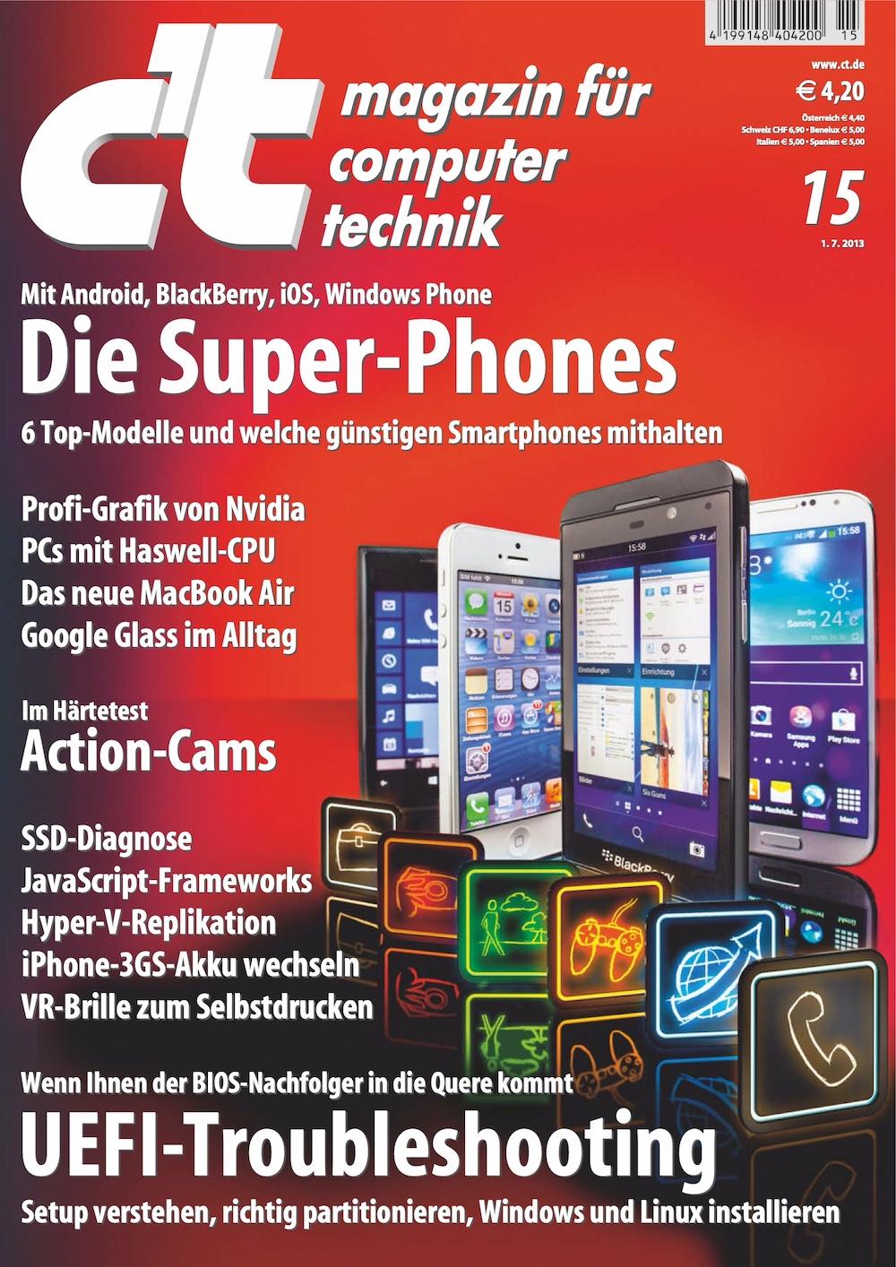 c't Magazin 2013-15
